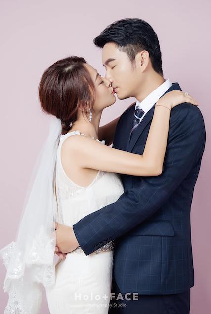 Holo+FACE 婚紗照 龍鳳褂 結婚證書 結婚公證